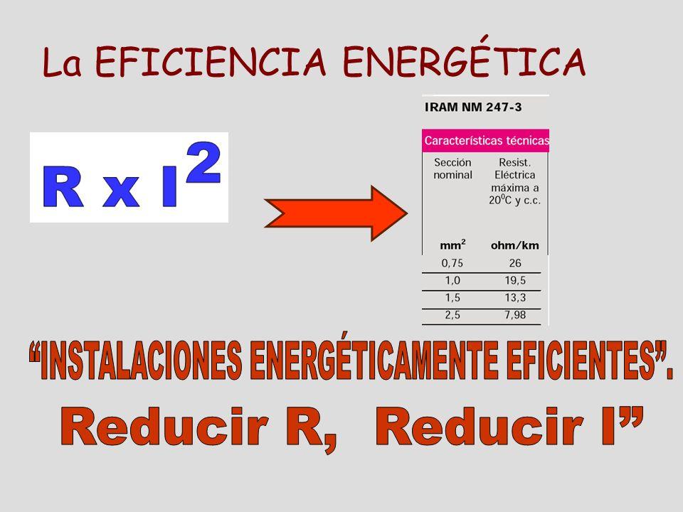 La EFICIENCIA ENERGÉTICA