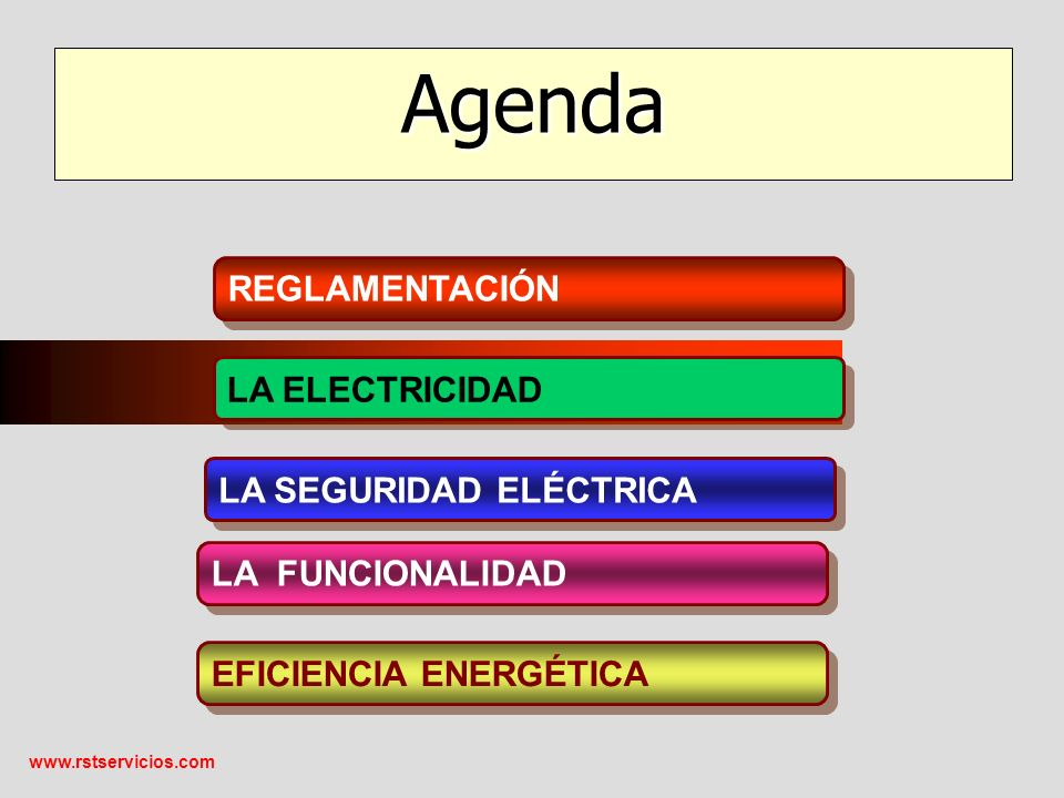 www.rstservicios.com Los electrones en la materia se mueven en forma desordenada, pero si a un conductor se le aplica una tensión eléctrica los electrones libres pasan a tener un movimiento ordenado y originar la electricidad.
