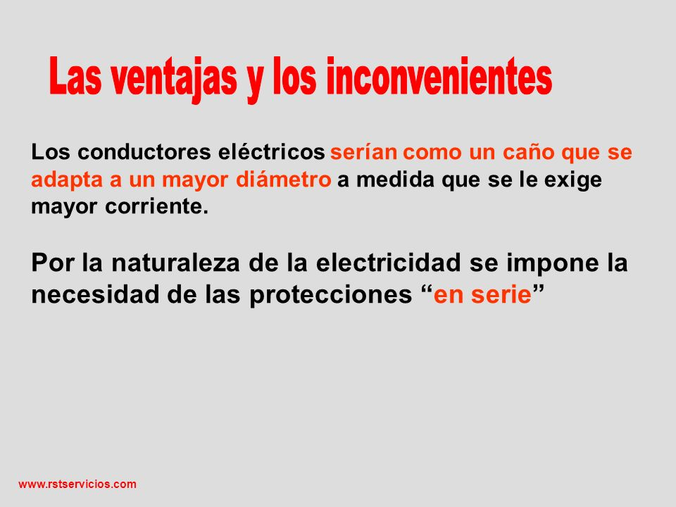 Conclusiones Para la misma carga y utilizando cobre electrolítico las pérdidas dependen de: Tipo de alimentación (trifásico con neutro o monofásico).