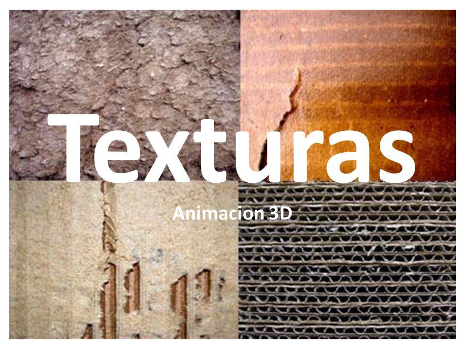 Texturas Animacion 3D