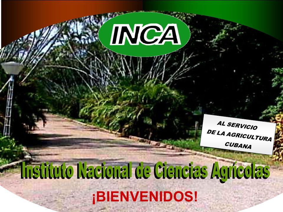 AL SERVICIO DE LA AGRICULTURA CUBANA ¡BIENVENIDOS!