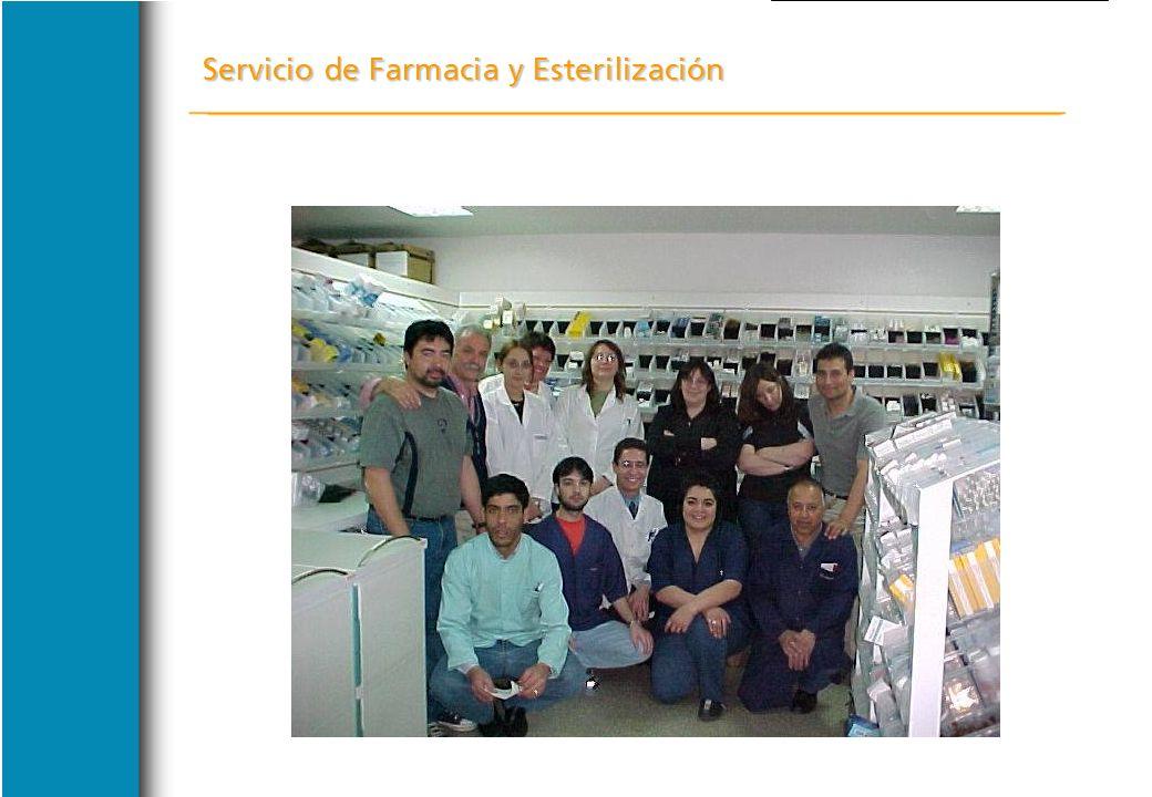 Servicio de Farmacia y Esterilización CONCLUSION FINAL CONCLUSION FINAL LA CRISIS DEL AÑO 2001 SE PUDO SOBRELLEVAR GRACIAS A HABER ENFRENTADO ADECUADA