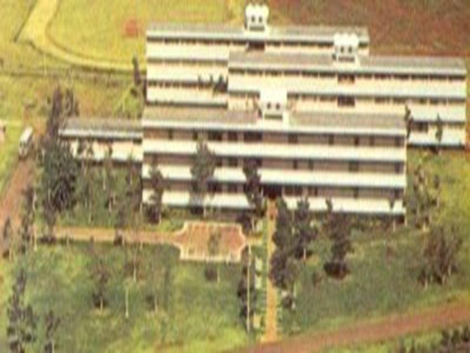 El edificio de las instituciones educacionales. En la zona rural también se construirá en el lugar más cercano a las viviendas de la población que ser