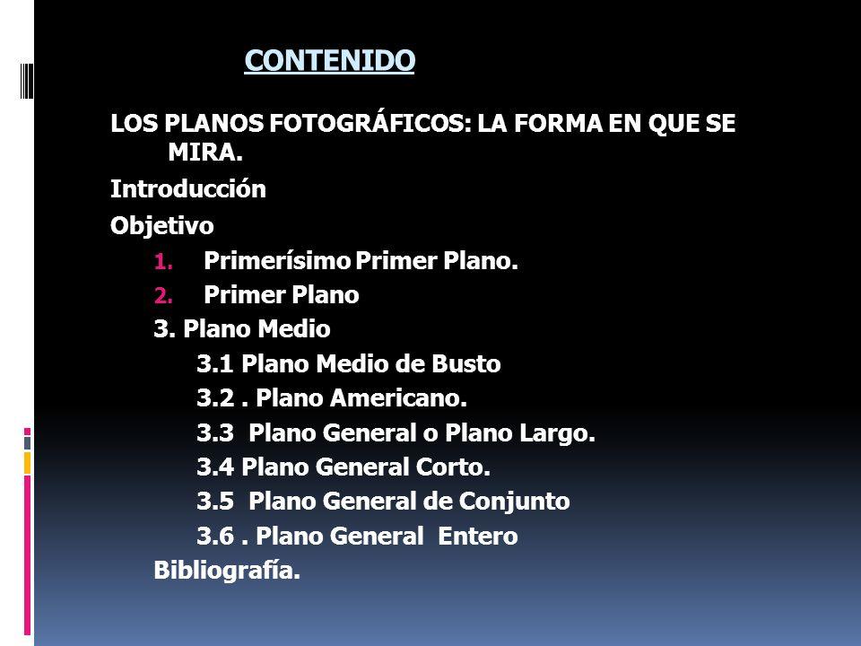 Planos Básicos en la Toma de Fotografías de Personas 4 IDENTIFICAR LOS DIVERSOS PLANOS FOTOGRÁFICOS, PARA LA CREACIÓN DE BUENAS FOTOGRAFÍAS. OBJETIVO