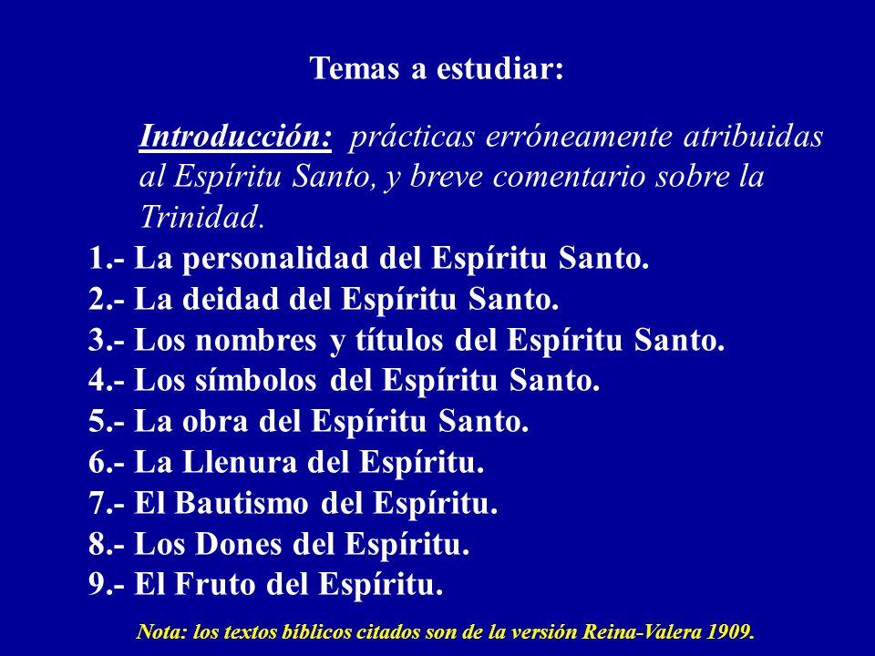 Los Símbolos del Espíritu Santo 1.- La paloma: indica pureza, paz y modestia.