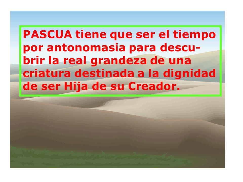 PASCUA merece ser el tiempo de felicitaciones por excelencia, pues la Muerte y Resurrección de Jesús son la demostración palpable del amor de Dios: SU