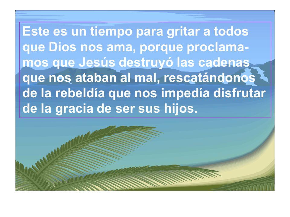Cristo resucitado anuncia que la muerte no tiene ya poder, que el hombre no está condenado a desaparecer, sino que es invitado a escoger, libremente,