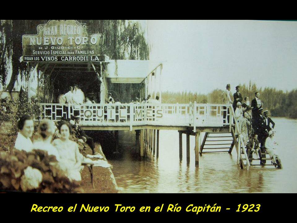 Excursión a las islas del Delta del Parana a principios del siglo XX