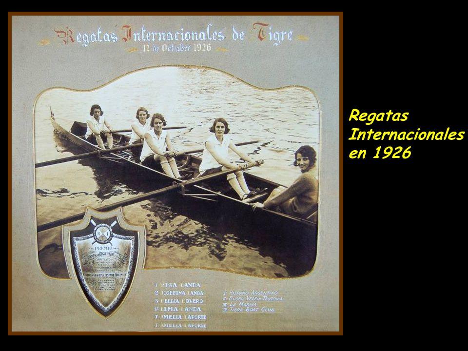 Recreo el Nuevo Toro en el Río Capitán - 1923