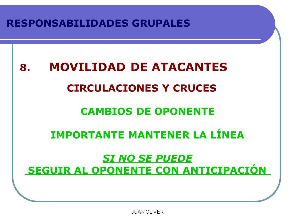 RESPONSABILIDADES GRUPALES 8.