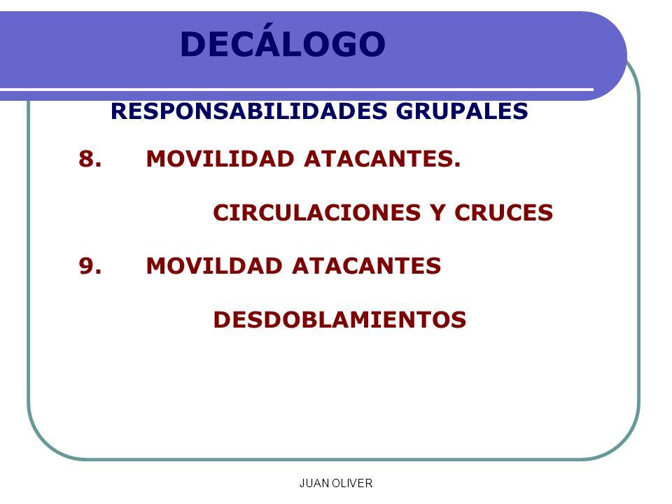 JUAN OLIVER DECÁLOGO RESPONSABILIDADES GRUPALES 8.