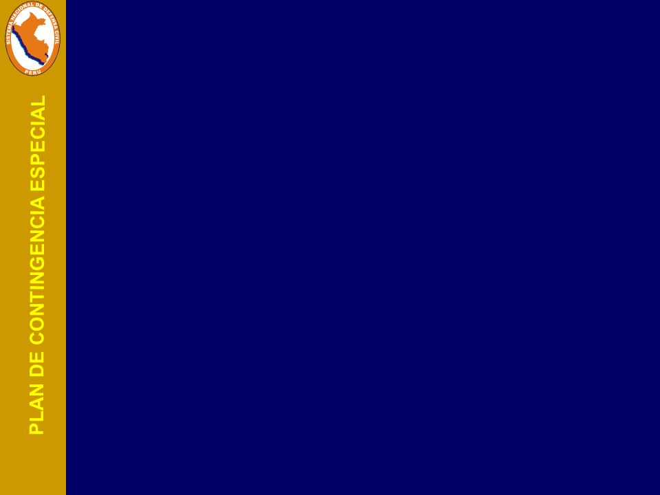 PLAN DE CONTINGENCIA ESPECIAL Objetivos y Ámbitos de aplicación Objetivos y Ámbitos de aplicación Localizar la emergencia y de ser posible eliminarla, y, Localizar la emergencia y de ser posible eliminarla, y, Reducir al mínimo los efectos del accidente sobre las Reducir al mínimo los efectos del accidente sobre las personas y los bienes.