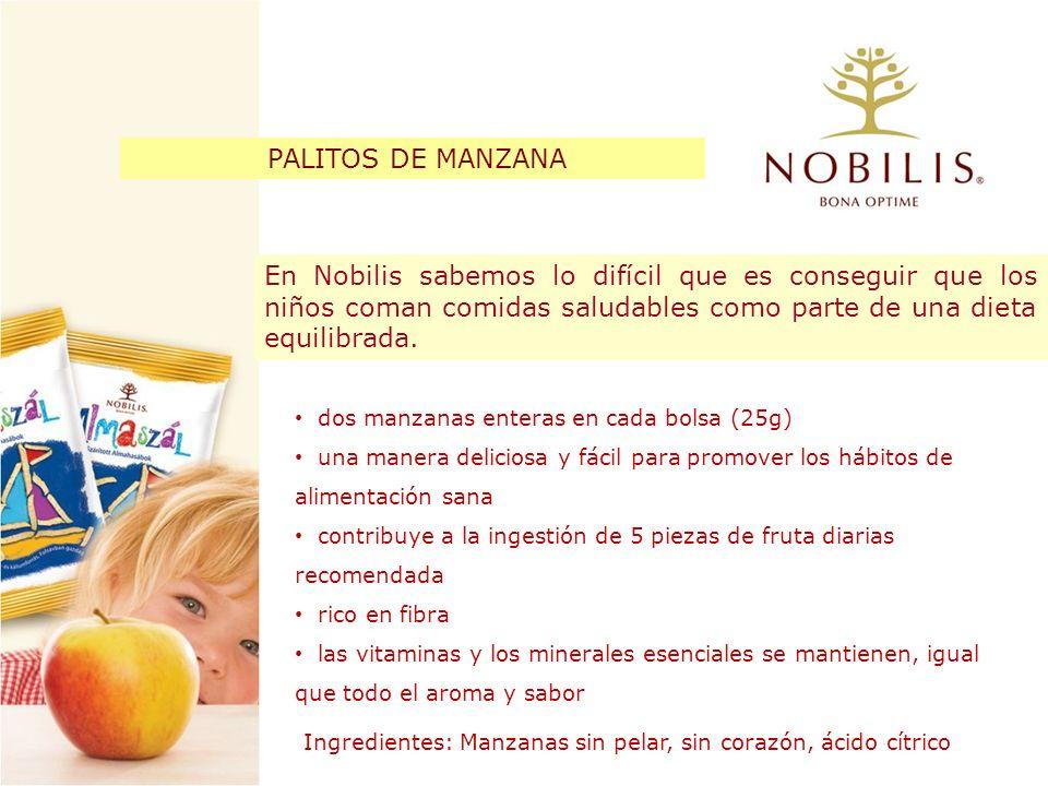 En Nobilis sabemos lo difícil que es conseguir que los niños coman comidas saludables como parte de una dieta equilibrada. dos manzanas enteras en cad