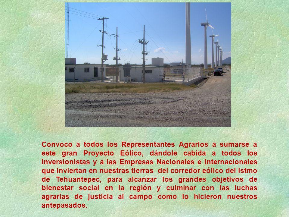 CONCLUSIONES: Con la construcción de Centrales Eólicas se generará energía limpia.