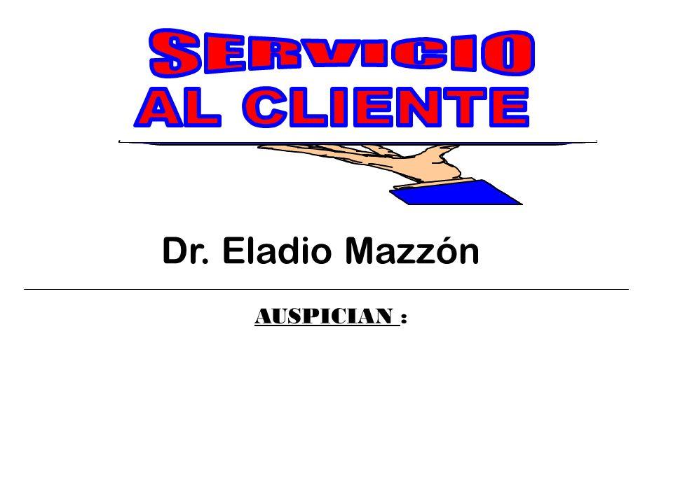 Dr. Eladio Mazzón AUSPICIAN :