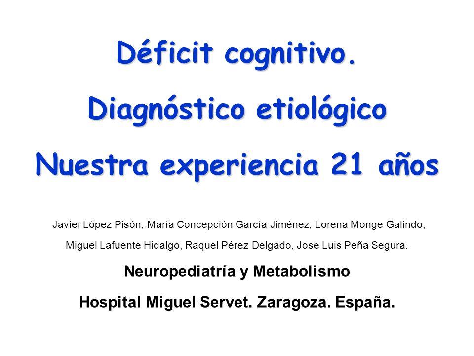 Déficit cognitivo.