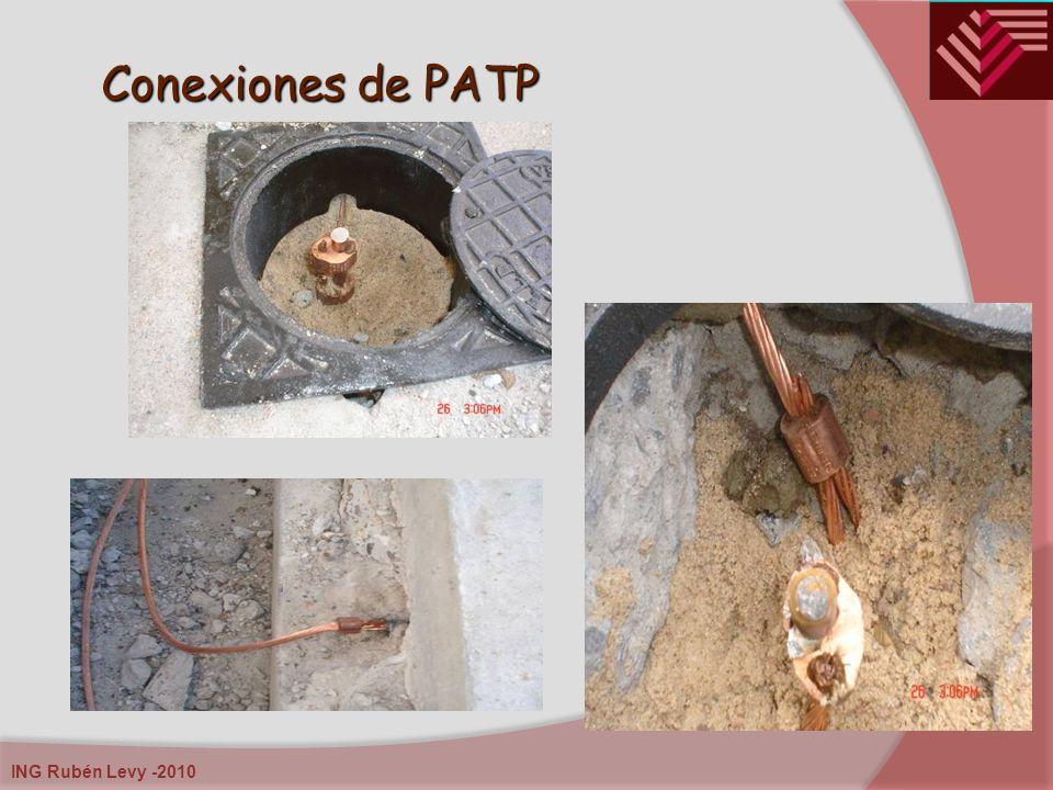 ING Rubén Levy -2010 Conexiones de PATP