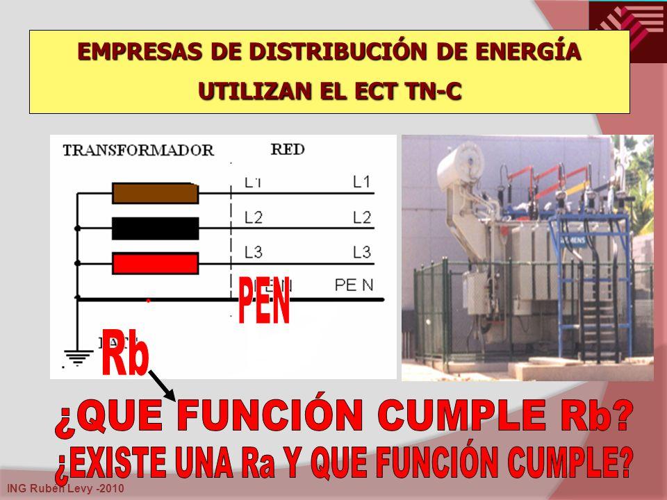 ING Rubén Levy -2010 EMPRESAS DE DISTRIBUCIÓN DE ENERGÍA UTILIZAN EL ECT TN-C