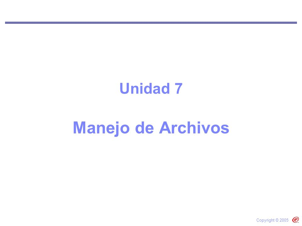 ESCUELA DE COMPUTACIÓN Abrir un Archivo #include main(){ … FILE *buff_ptr; buff_ptr = fopen(misDatos.dat,r); … fclose(buff_ptr); … }