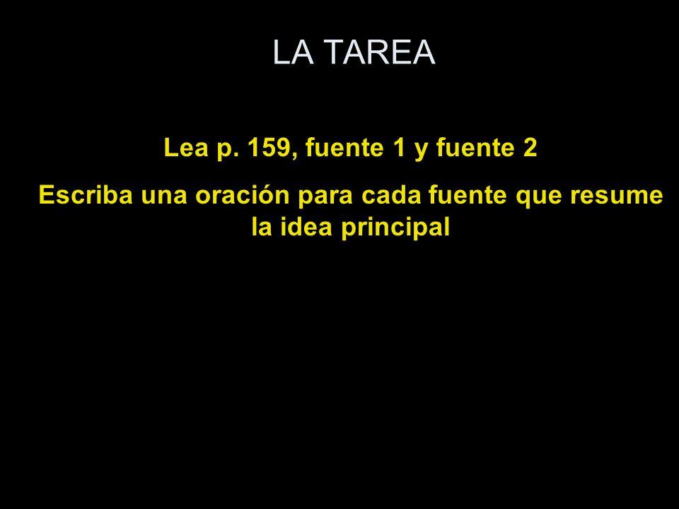 LA TAREA Lea p.