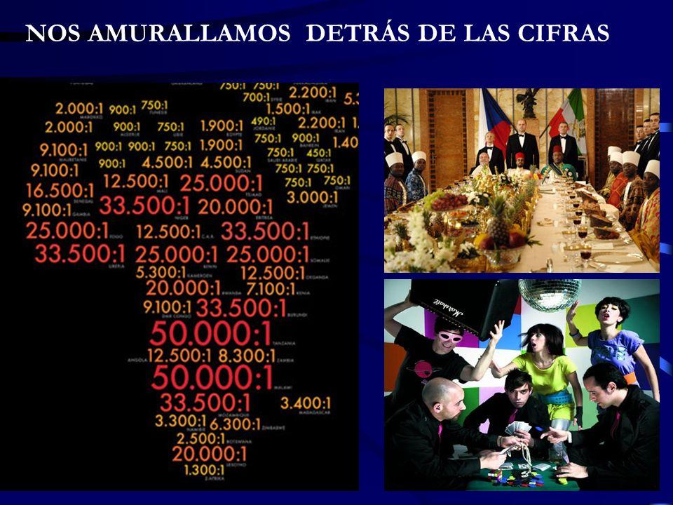 NOS AMURALLAMOS DETRÁS DE LAS CIFRAS
