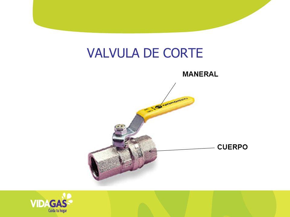 VALVULA DE CORTE MANERAL CUERPO