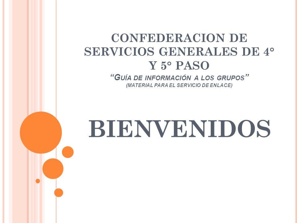 SERVICIOS QUE OFRECE LA CONFEDERACION Como ya se comentó, La Confederación ofrece también, Asesoramiento de tipo legal.
