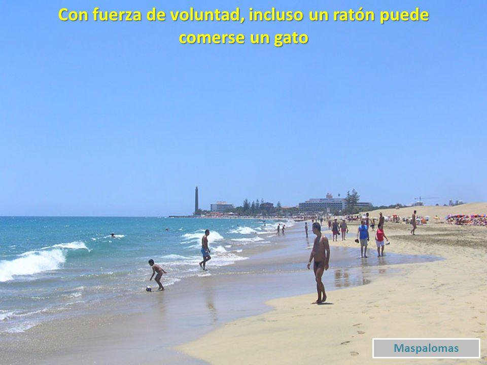 Quien no comprende una mirada tampoco comprenderá una larga explicación Ptº Carmen – Playa Chica
