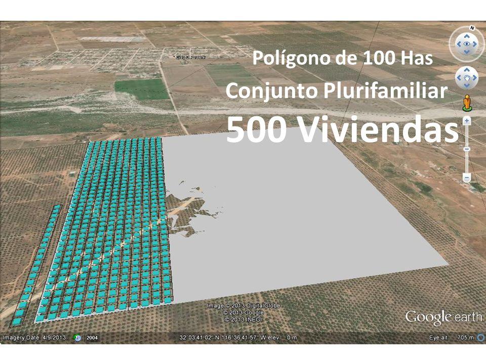 Conjunto Plurifamiliar 500 Viviendas Polígono de 100 Has