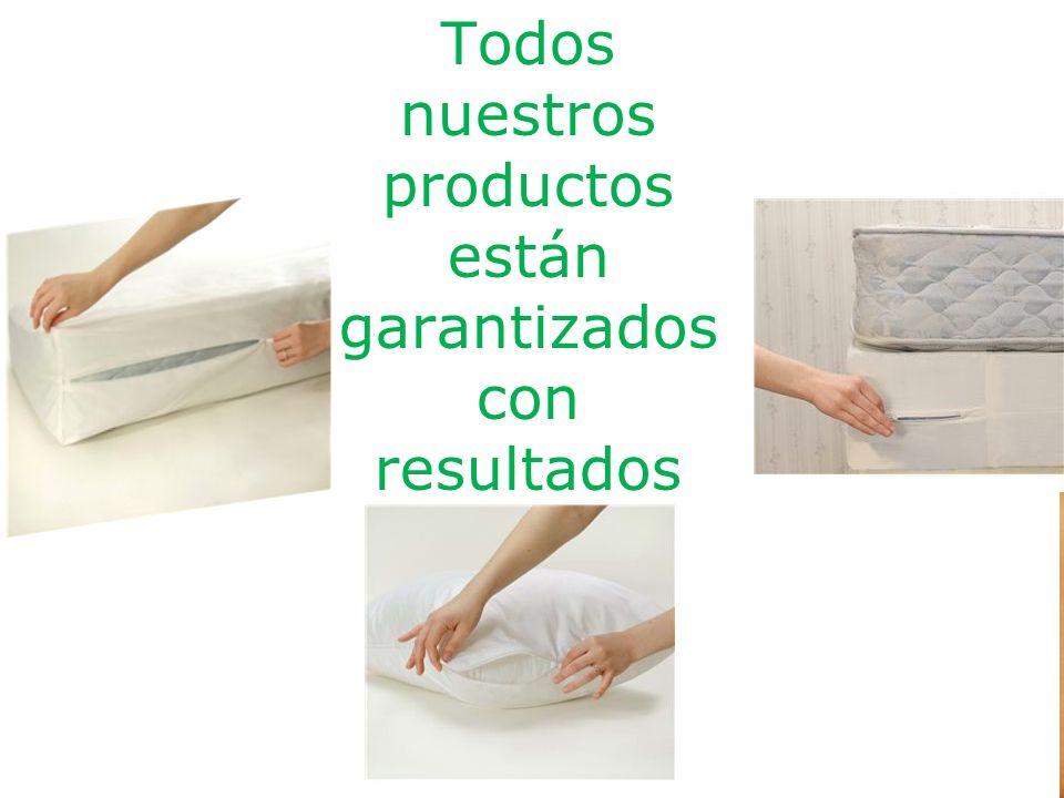 Todos nuestros productos están garantizados con resultados