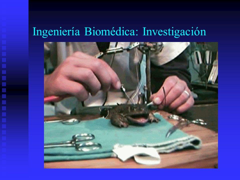 Ingeniería Biomédica: Investigación