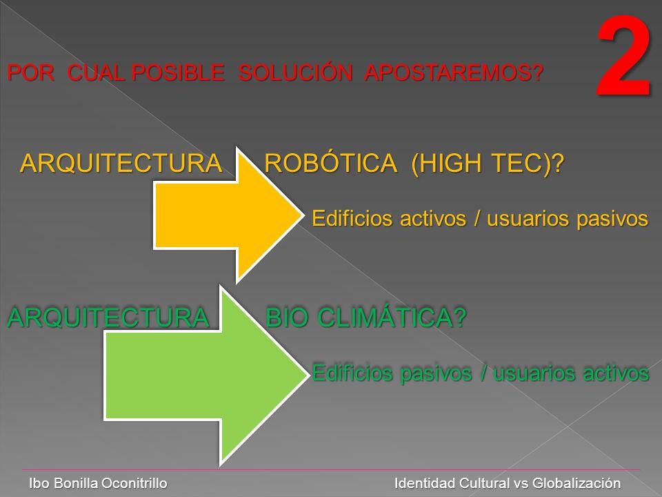 Ibo Bonilla Oconitrillo Identidad Cultural vs Globalización POR CUAL POSIBLE SOLUCIÓN APOSTAREMOS.