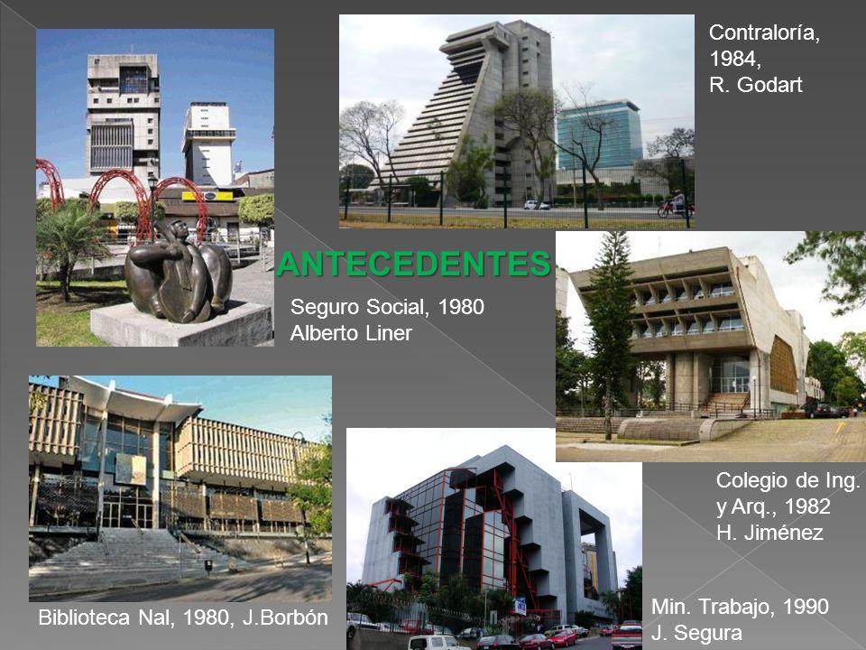 Colegio de Ing.y Arq., 1982 H. Jiménez Contraloría, 1984, R.