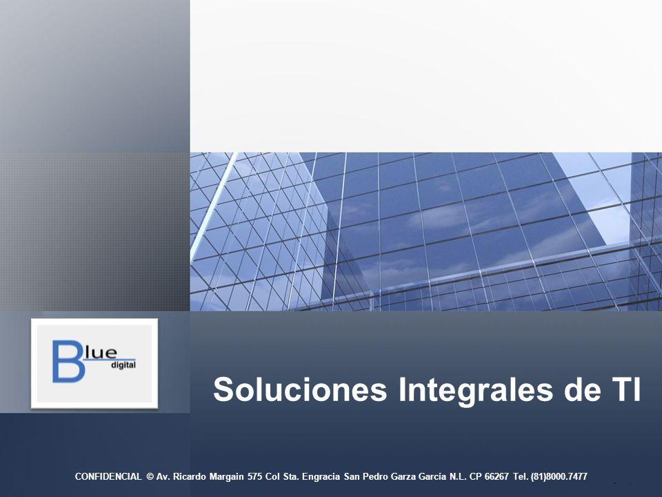 Soluciones Integrales de TI CONFIDENCIAL © Av.Ricardo Margain 575 Col Sta.