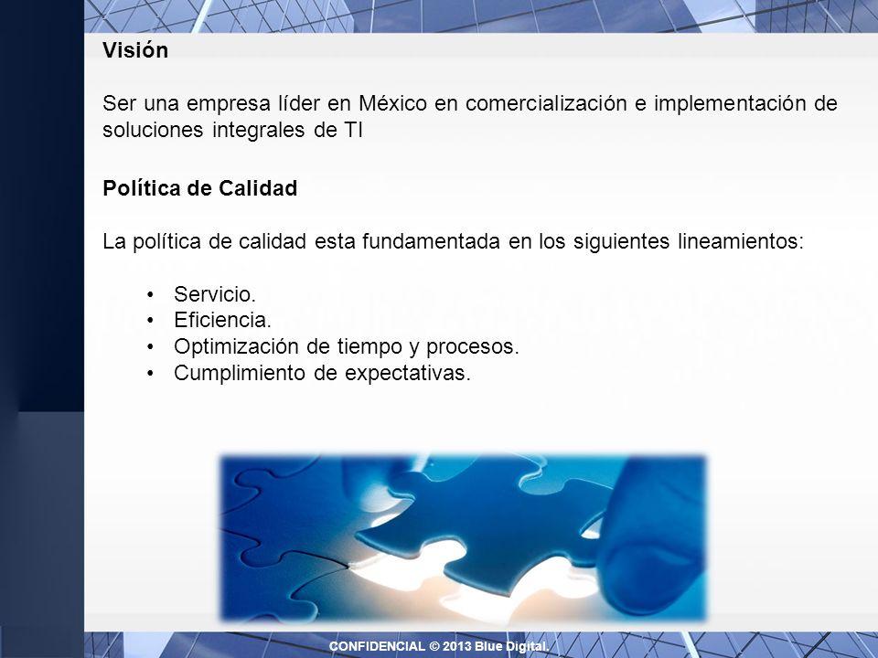 Política de Calidad La política de calidad esta fundamentada en los siguientes lineamientos: Servicio.