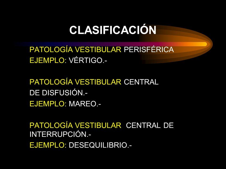 Procesos que cursan con mareo 1.Síndrome cervical.- 2.Síndrome ortostático.- 3.Síndrome de insuficiencia circulatoria cerebral.- 4.Síndrome psicógeno.- 5.Síndrome postconmocional.- 6.Fobias, agarofobia, claustrofobia, acrofobia.- 7.Cinetosis.- 8.Estudios: Doopler, Rx.