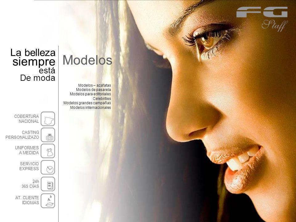 Modelos Modelos – azafatas Modelos de pasarela Modelos para editoriales Celebrities Modelos grandes campañas Modelos internacionales La belleza siempr