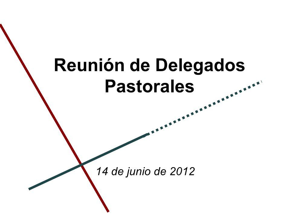 Reunión de Delegados Pastorales 14 de junio de 2012