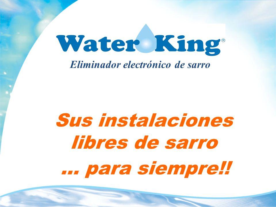 Garantías de Water King Garantía de satisfacción del cliente.
