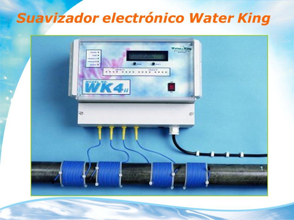 Que es Water King Water King es un sistema de suavización de agua que utiliza el principio del acondicionamiento electrónico.