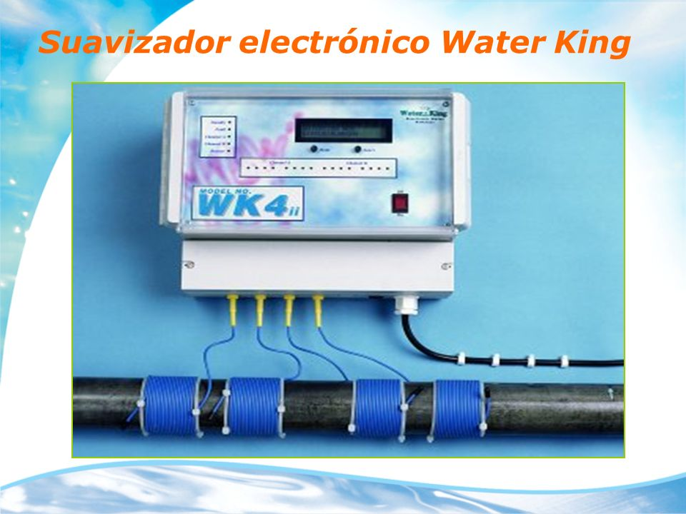 Suavizador electrónico Water King