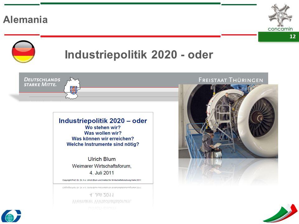 12 Alemania Industriepolitik 2020 - oder