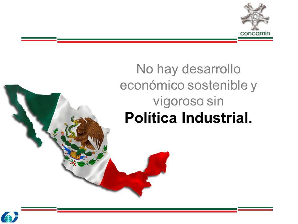 No hay desarrollo económico sostenible y vigoroso sin Política Industrial.