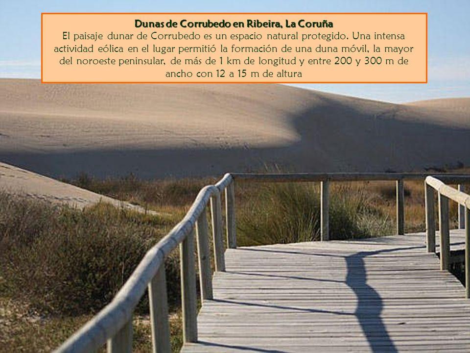 Dunas de Corrubedo en Ribeira, La Coruña Dunas de Corrubedo en Ribeira, La Coruña El paisaje dunar de Corrubedo es un espacio natural protegido. Una i