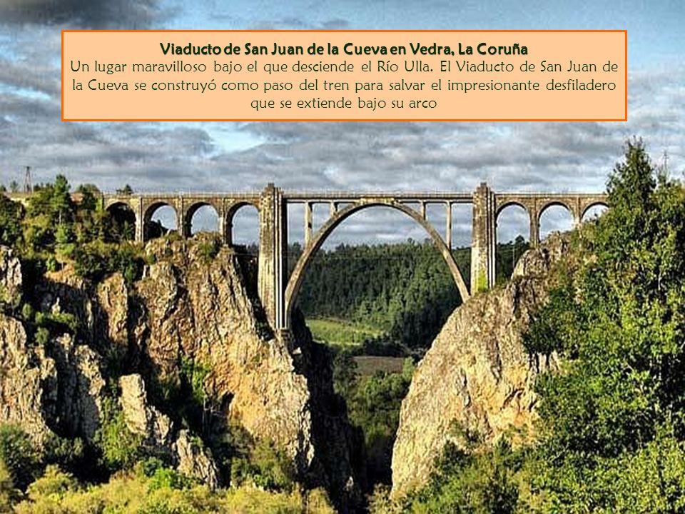 Viaducto de San Juan de la Cueva en Vedra, La Coruña Viaducto de San Juan de la Cueva en Vedra, La Coruña Un lugar maravilloso bajo el que desciende e