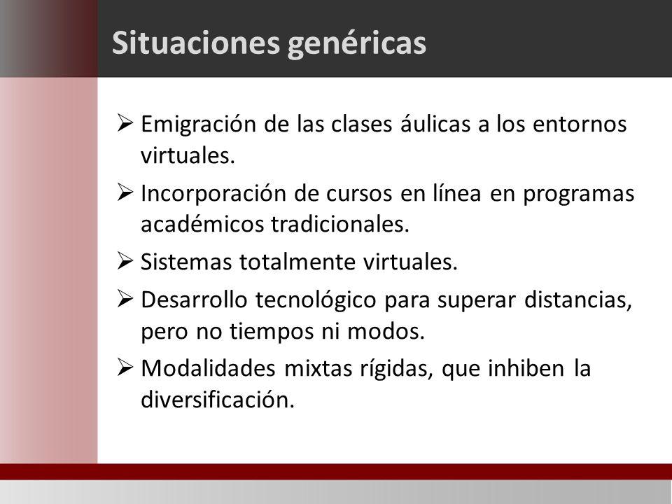 Convergencias Tendencias académicas Innovación educativa Educación institucional Entornos virtuales En el contexto de la educación institucional, en los entornos virtuales convergen diversas tendencias en cuya situación se buscan y construyen oportunidades para la innovación educativa.