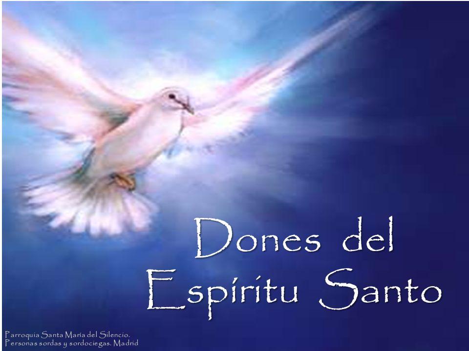 Jesús envió el Espíritu Santo a los apóstoles para ayudarles a continuar el trabajo que les dio: Anunciar al mundo el Amor de Dios.
