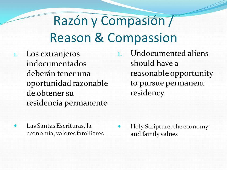 Razón y Compasión / Reason & Compassion 1.