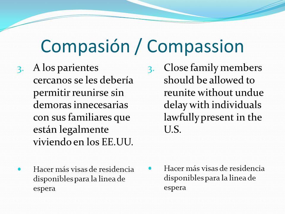 Compasión / Compassion 3.