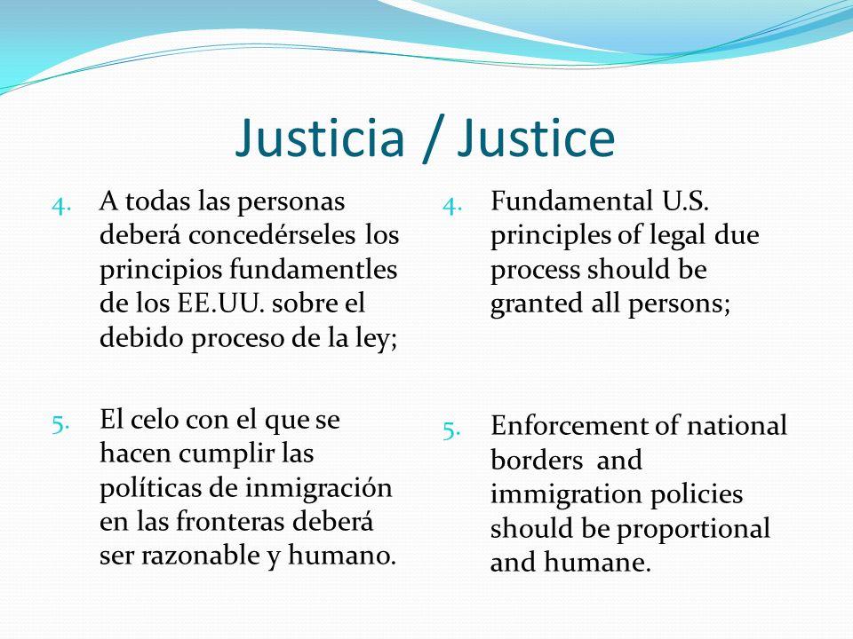 Justicia / Justice 4.